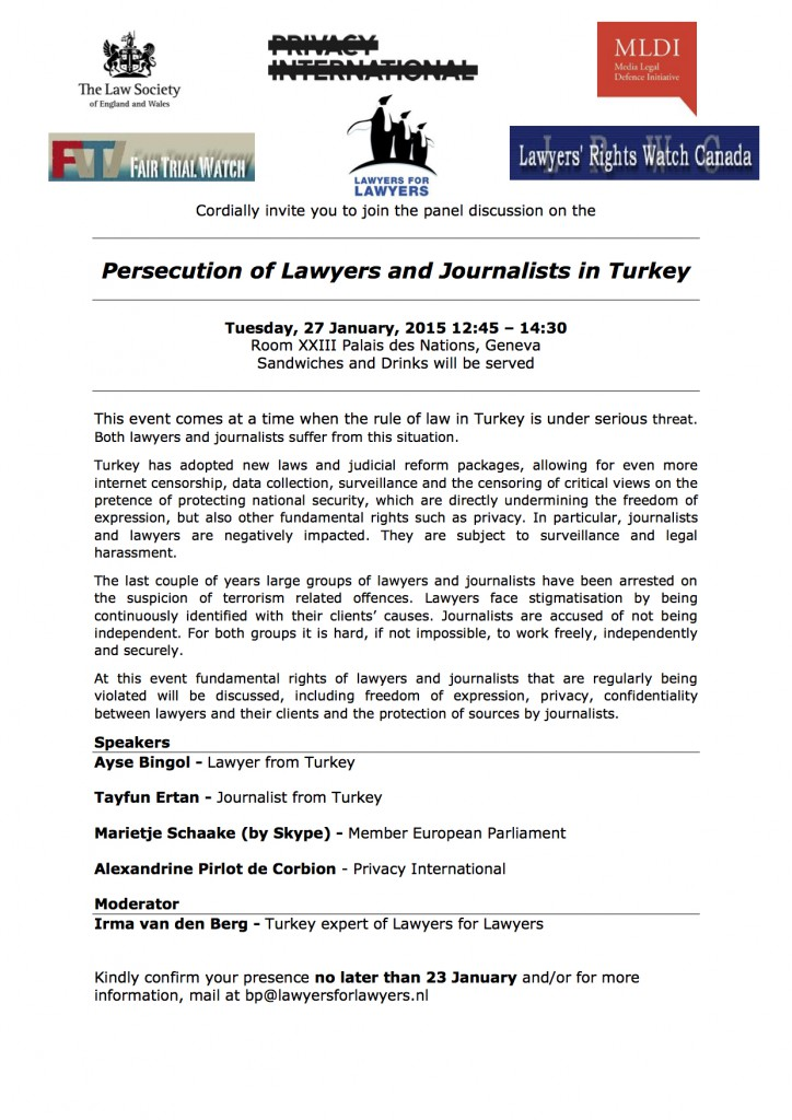 Flyer side-event Turkey