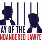 Day of the Endangered Lawyer logo